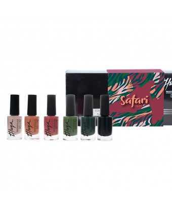 KIT ESMALTES DELUXE SAFARI 6U