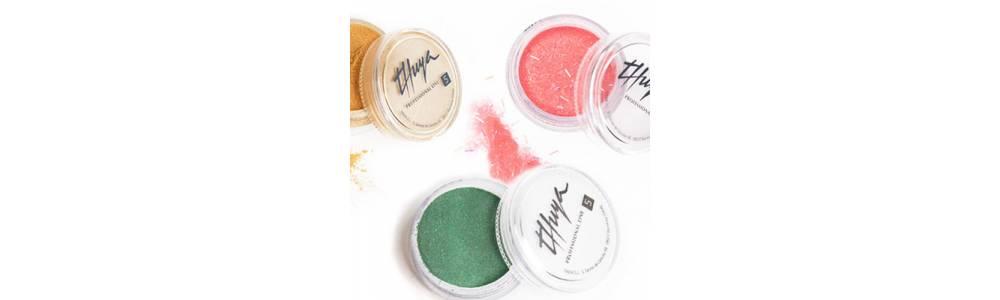 Polvos acrílicos de color para decoración de uñas y Nailart