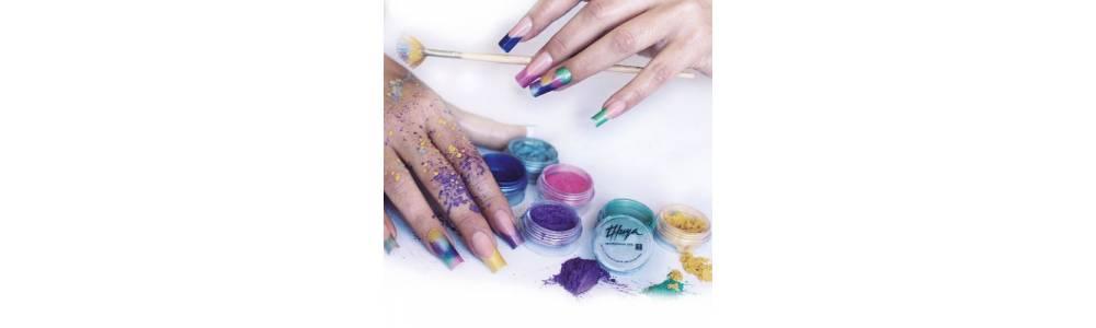 Pigmentos puros de color para decoraciones y nail art
